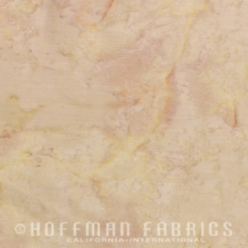Hoffman Batik Fabric - Watercolour 1895 - Teddy - 100% Cotton