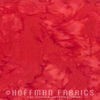 Hoffman Batik Fabric - Watercolour 1895 - Chillies - 100% Cotton