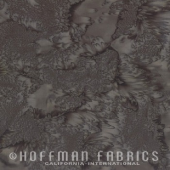 Hoffman Batik Fabric - Watercolour 1895 - Gravel - 100% Cotton