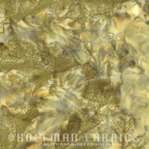 Hoffman Batik Fabric - Watercolour 1895 - Lizard - 100% Cotton