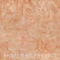 Hoffman Batik Fabric - Watercolour 1895 - Parchment - 100% Cotton