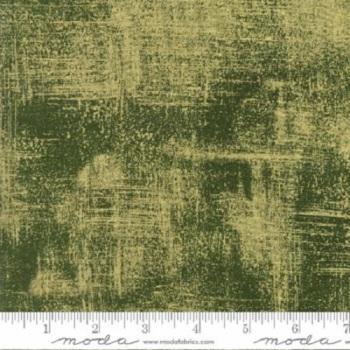 Moda Fabric - Luxe - Evergreen Gold Metallic - 100% Cotton
