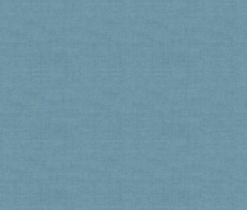 Makower Fabric - Heartwood - Linen Texture - Light Blue - 100% Cotton