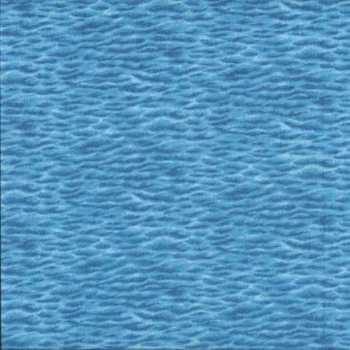 Makower Fabric - Landscapes - Sea - Blue - 100% Cotton