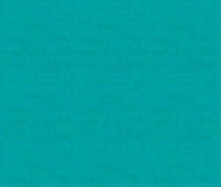 Makower Fabric - Linen Texture Look - Turquoise - 100% Cotton