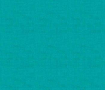 Makower Fabric - Linen Texture Look - Turquoise - 100% Cotton