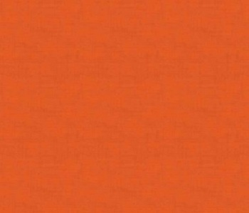 Makower Fabric - Linen Texture Look - Orange - 100% Cotton