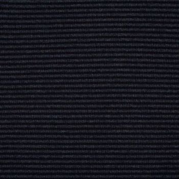 Stretch Ribbing/Collar/Cuff Fabric - Black/Grey Stripe - 96% Cotton 4% Lycra Half Metre