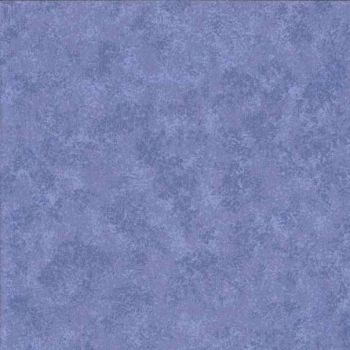 Makower Fabric - Spraytime - Cornflower Blue 2800 B37 - 100% Cotton
