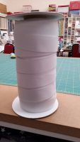 White Flat Woven Elastic - 32mm