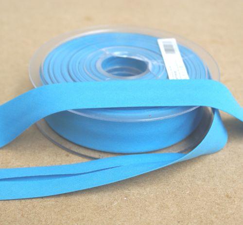 Bias Binding 25mm - Turquoise 325 - Polycotton - Metre