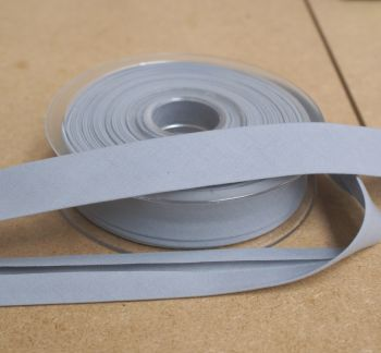 Bias Binding 25mm - Light Grey 007 - Polycotton - Metre