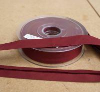 Bias Binding 25mm - Red Wine 762 - Polycotton - Metre