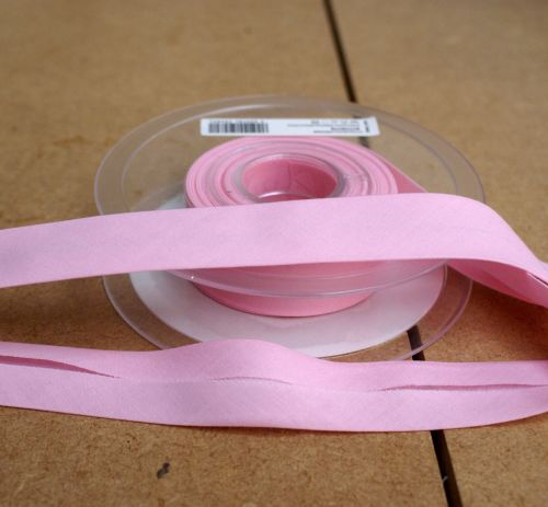 Bias Binding 25mm - Light Pink 718 - Polycotton - Metre