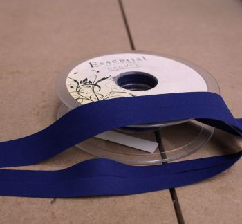 Bias Binding 25mm - Royal Blue 201 - Polycotton - Metre