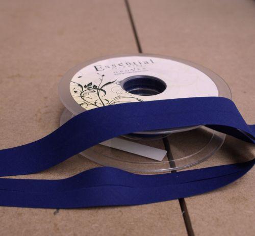 Bias Binding 25mm - Royal Blue 201 - Polycotton - Metre