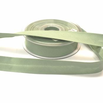 Bias Binding 25mm - Sage Green 508 - Polycotton - Metre