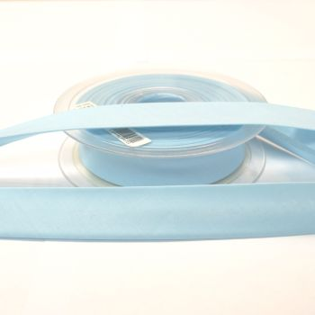 Bias Binding 25mm - Sky Blue 259 - Polycotton - Metre