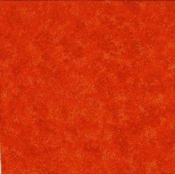Makower Fabric - Spraytime - Tangerine 2800 N58 - 100% Cotton