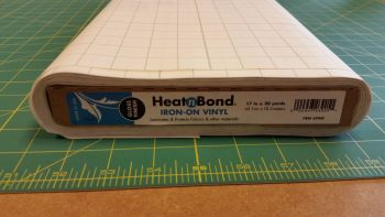 Heat n Bond - Iron on Vinyl Laminate - Gloss - Water Resistant Covering - Metre