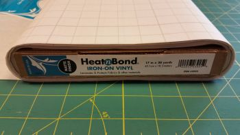Heat n Bond - Iron on Vinyl Laminate - Matte - Water Resistant Covering - Metre