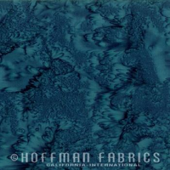 Hoffman Batik Fabric - Watercolour 1895 - Persia - 100% Cotton