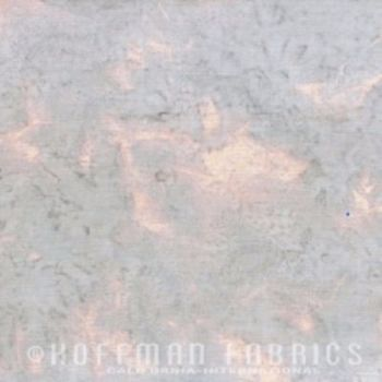 Hoffman Batik Fabric - Watercolour 1895 - Ice Grey/Blue - 100% Cotton