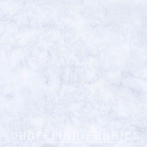 Hoffman Batik Fabric - Watercolour 1895 - Breeze Blue - 100% Cotton