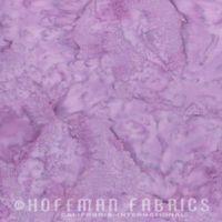 Hoffman Batik Fabric - Watercolour 1895 - Cairo Purple - 100% Cotton