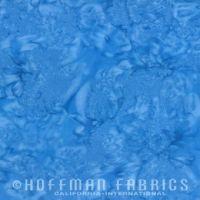 Hoffman Batik Fabric - Watercolour 1895 - Atlantic Blue - 100% Cotton