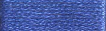 Presencia Finca Perle No.8 Thread - Egyptian Cotton - Dark Delft Blue 3400 - 10g Ball