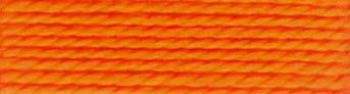 Presencia Finca Perle No.8 Thread - Egyptian Cotton - Tangerine 1237 - 10g Ball