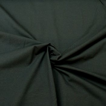 Stretch Jersey Knit Fabric - Plain Navy - 95% Cotton 5% Lycra Half Metre