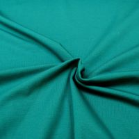 Stretch Jersey Knit Fabric - Plain Petrol - 95% Cotton 5% Lycra Half Metre