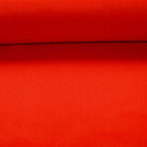 1.5mm Felt Fabric - Red - 100% Polyester - Metre