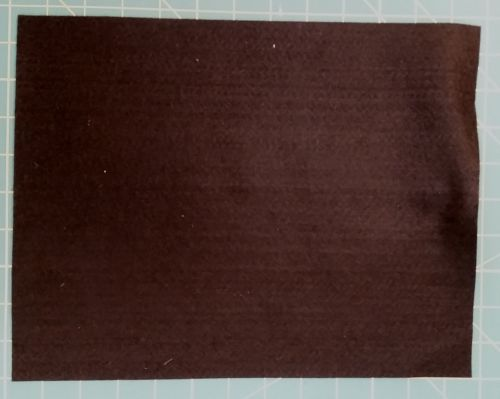 1.5mm Felt Fabric Sheet - Black - 100% Polyester - Rectangular Sheet