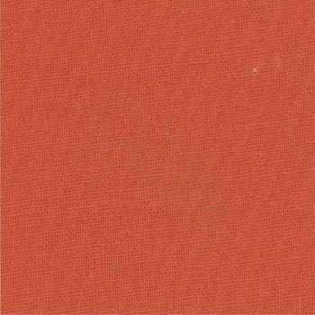 Moda Fabric - Bella Solids - Betty Orange - 100% Cotton