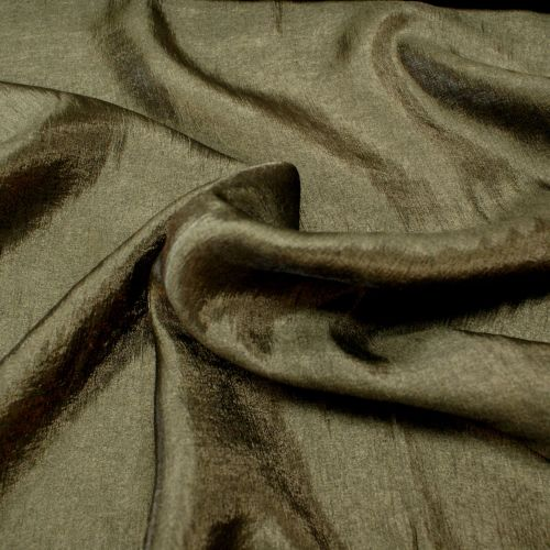 Shimmer Slip Fabric - Black Sheer - 68% Viscose, 22% Polyester, 10% Polyami