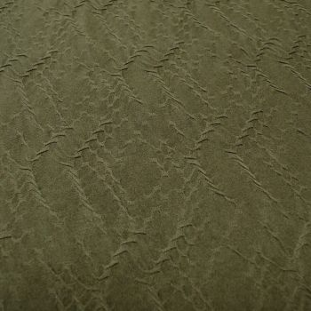 Jacquard Fabric - Black - 100% Polyester - Half Metre