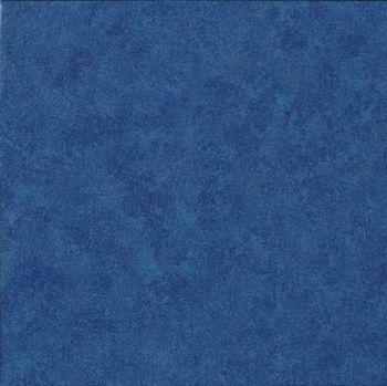 Makower Fabric - Spraytime - Cobalt Blue 2800 B07 - 100% Cotton