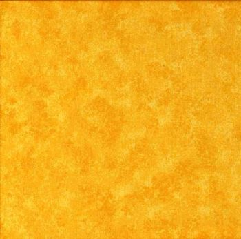 Makower Fabric - Spraytime - Bright Yellow 2800 Y08 - 100% Cotton