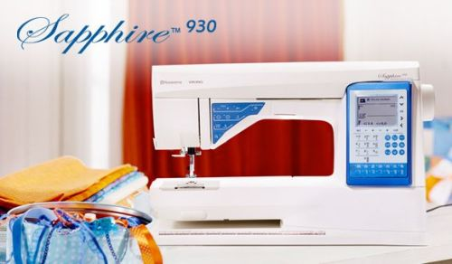 SALE - Husqvarna Viking - Sapphire 930 - Electronic Quilter Sewing Machine