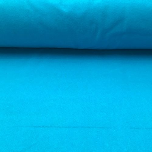 1.5mm Felt Fabric - Aqua Blue - 100% Polyester - Metre