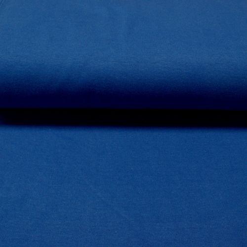 Stretch Ribbing/Collar/Cuff Fabric - Royal Blue LW - 96% Cotton 4% Lycra Ha