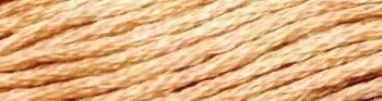 Presencia Finca Mouline 6 ply Embroidery Floss / Skein - Egyptian Cotton - Dark Yellow Beige 7386 - 8m