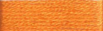 Presencia Finca Mouline 6 ply Embroidery Floss / Skein - Egyptian Cotton - Medium Tangerine 1152 - 8m