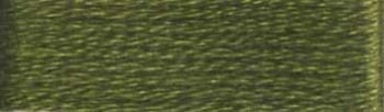 Presencia Finca Mouline 6 ply Embroidery Floss / Skein - Egyptian Cotton - Military Green 4823 - 8m