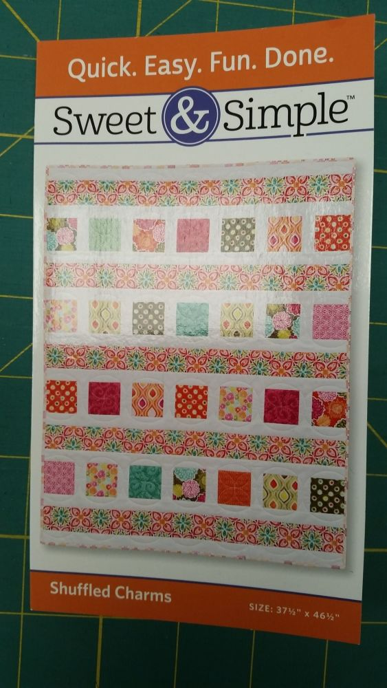 Sweet & Simple - Shuffled Charms Quilt Pattern