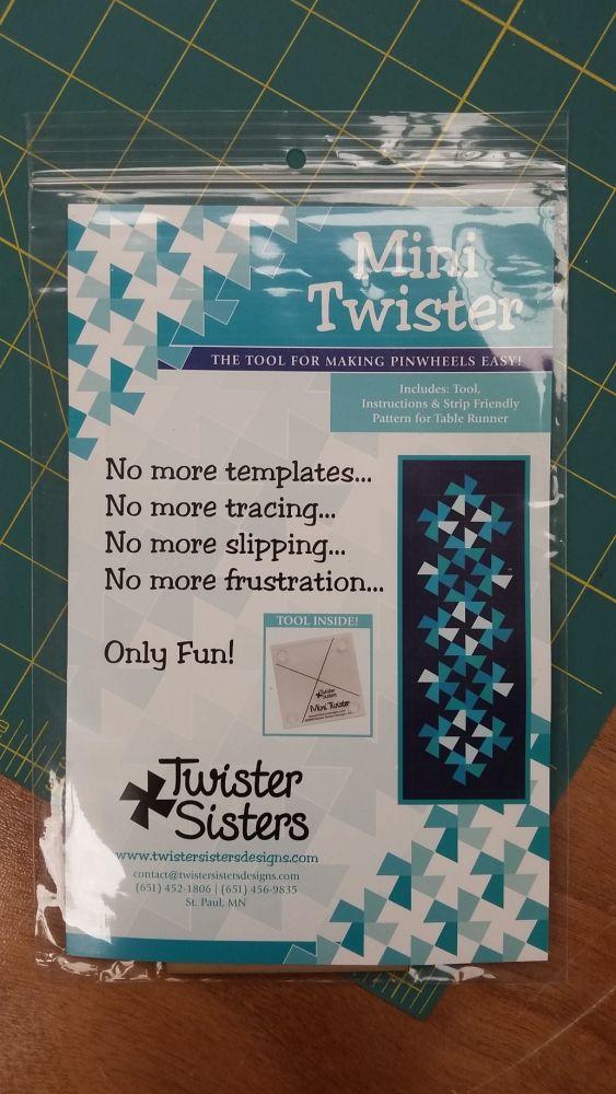 Twister Sisters - Mini Pinwheel Tool & Instructions