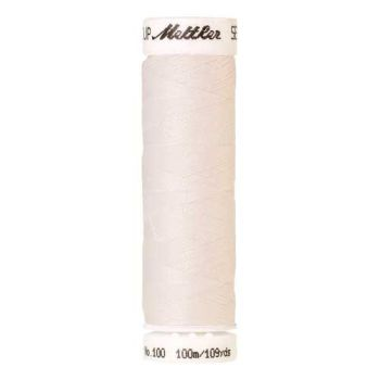 Mettler Threads - Seralon Polyester - 100m Reel - White 2000